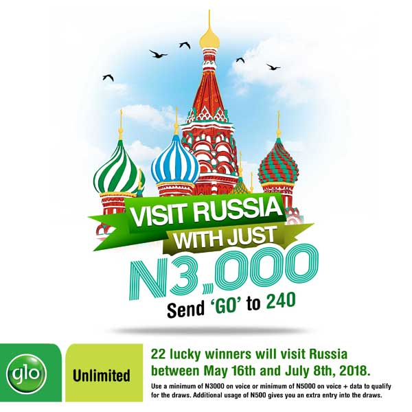 How to Qualify and be a part of the new Glo Go Russia promo