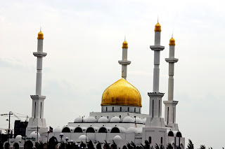 Golden Domes Awesome HD Mosque Wallpaper