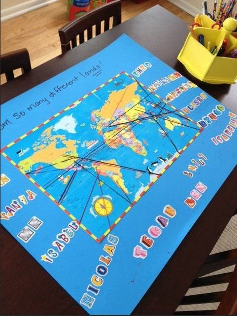 Mommy Maestra: Multicultural Geography Activity