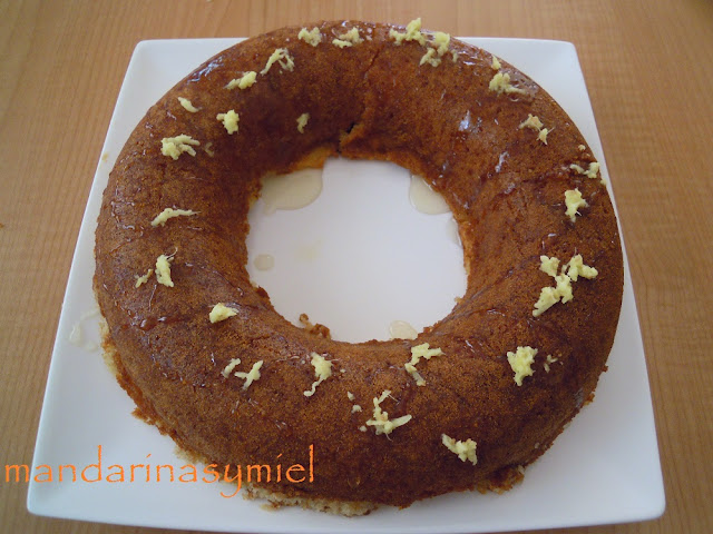 bizcocho-jengibre-miel-manzana