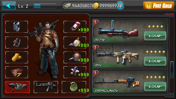 Zombie Assault:Sniper Cheats