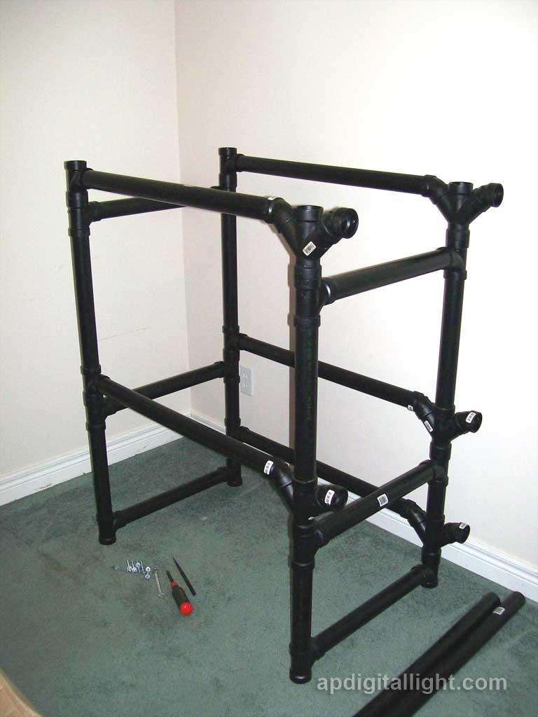 pvc pipe bookshelf - 28 images - plans to build pvc ...