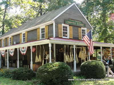gift shop and general store at Historic Cold Spring Village in Cape May, New Jersey