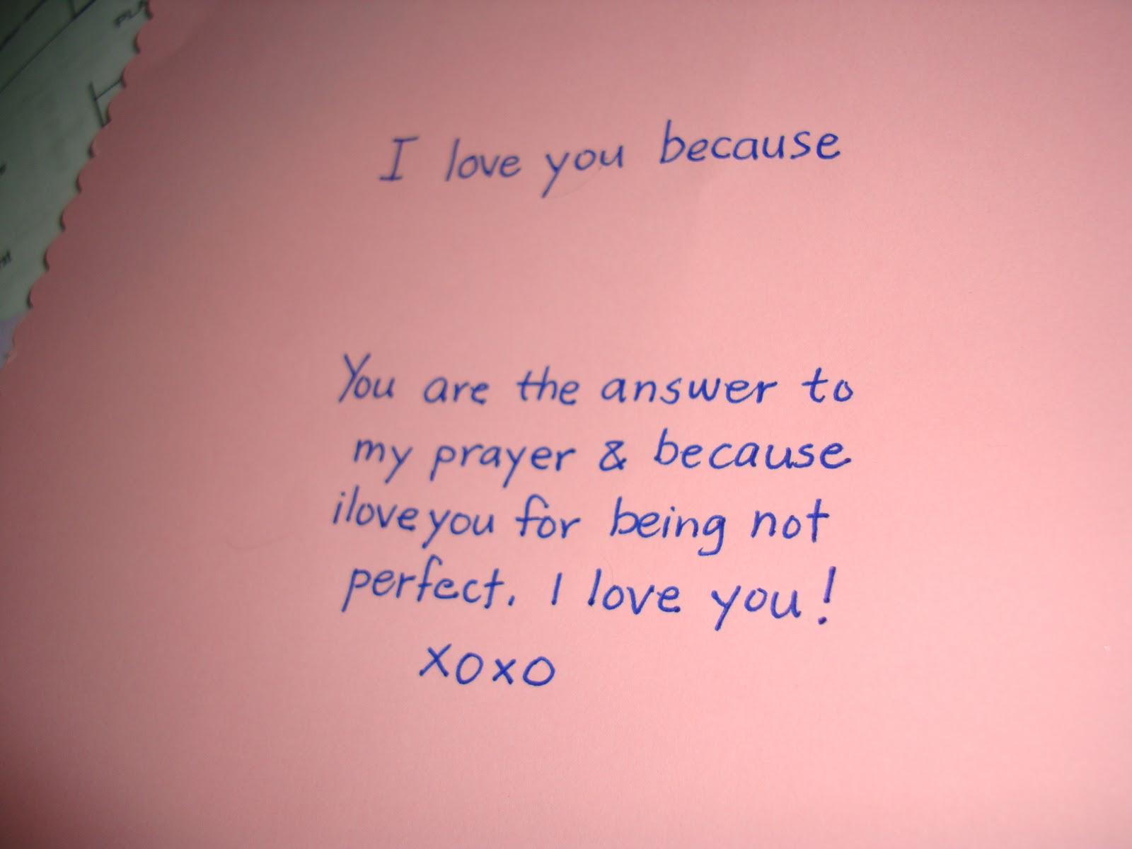 I love you boyfriend essay
