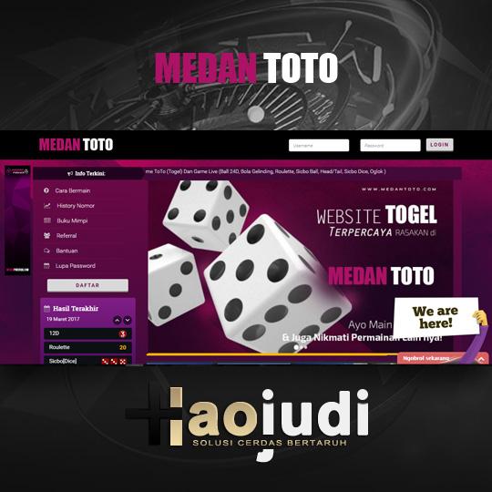 MedanToto Agen Togel Online Teraman Dan Terpecaya