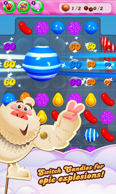 Candy Crush Saga Unlimited Moves Apk with Facebookonnect