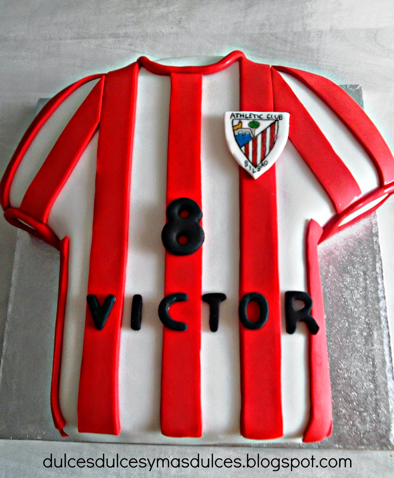 TARTA CAMISETA DEL ATHLETIC d4a2da57f1a