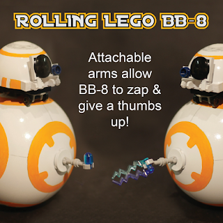 LEGO Ideas 2016 Finalist - Rolling BB-8 from Star Wars