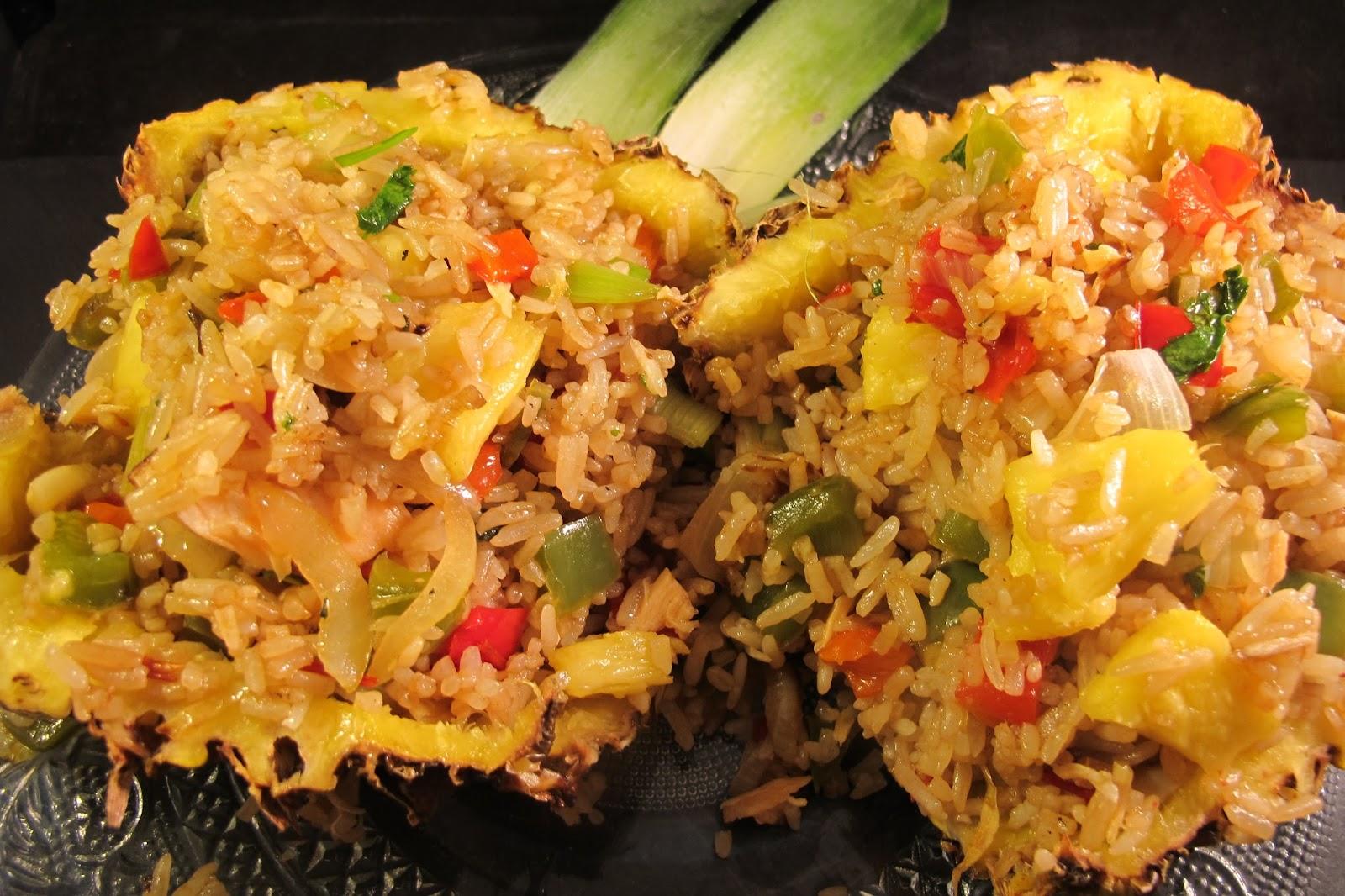 Riz saut l 39 ananas et aux l gumes le blog de cuisine - Que cuisiner avec des poivrons ...