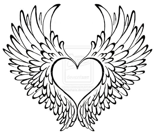 Hearts With Wings  Free