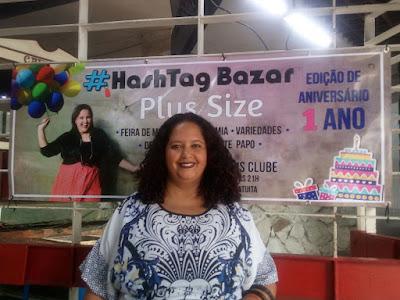 lu tudo sobre tudo no evento hashtag bazar plus size