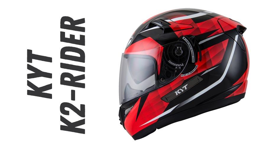 6e8ee986 K2 RIDER adalah series full face KYT yang juga sudah pakai double visor  seperti vendetta2. Helm yg memiliki bobot 1.8kg ini menggunakan visor  cembung warna ...