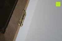 Scharnier: Küchenschrank Wandschrank Hängeschrank 4 Haken 4 Schubladen 2 Glastüren Schrank