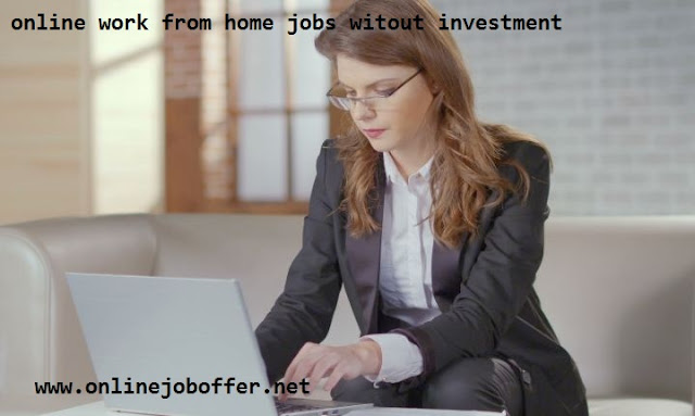 Legit Online Jobs Without Investment From Home
