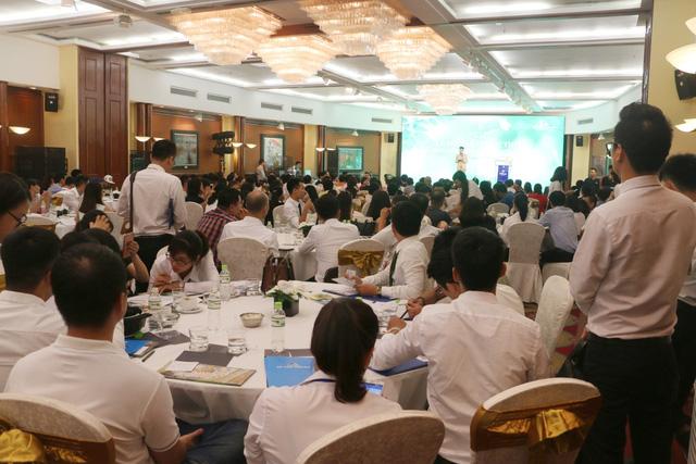 Hình ảnh trong lễ mở bán đợt 2 chung cư Eco city Long Biên