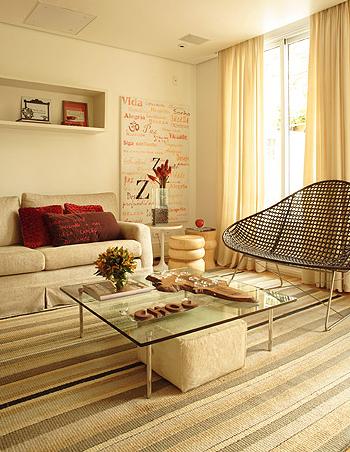 Construindo minha casa clean salas de estar e de tv for Ambientes casas modernas