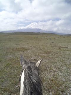 Cotopaxi, Riitta reissaa, ratsastusmatka
