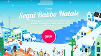 Gioca con Babbo Natale nel suo villaggio e segui la slitta intorno al mondo