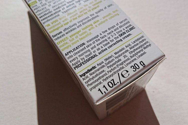 serum bielenda kwas migdałowy skład
