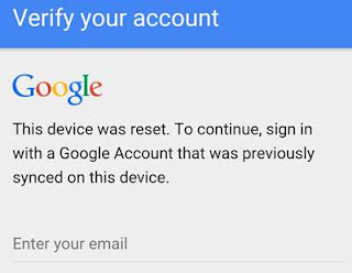 factory reset protection in android lollipop