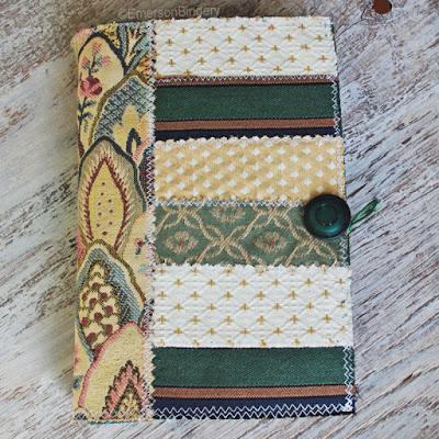 fabric art journal
