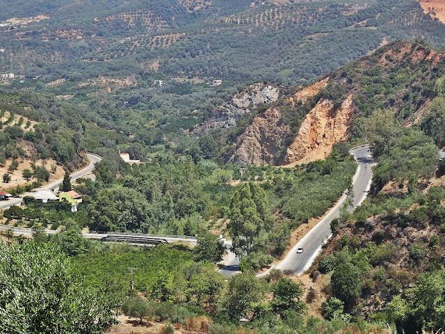 Kreta, góry, widok na wyżyny i doliny,