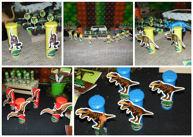 Lembrancinhas - Tema Dinossauro