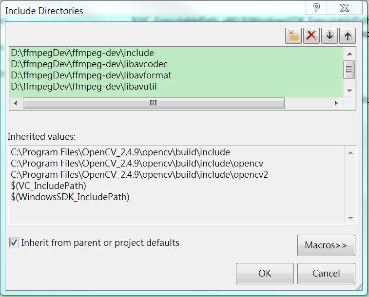 Wang x King - 學、思、執行、歸納∞: VS2013 使用OpenCV + FFmpeg