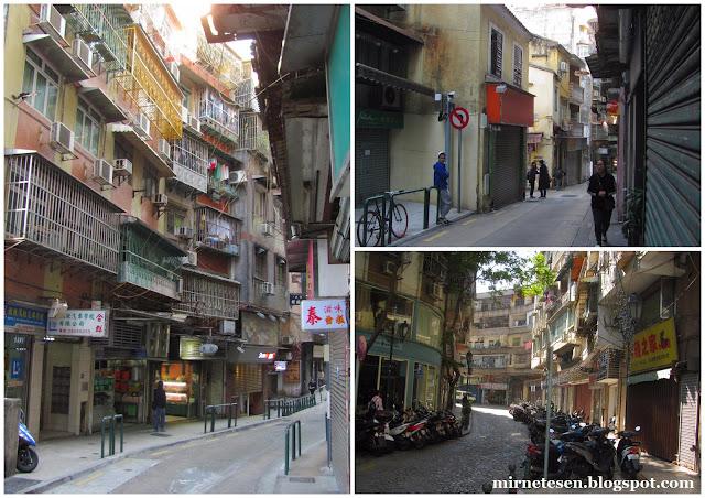 Макао - улицы старого города