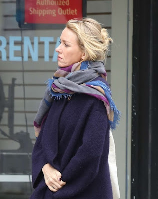 Naomi Watts on the set of 'Gypsy'