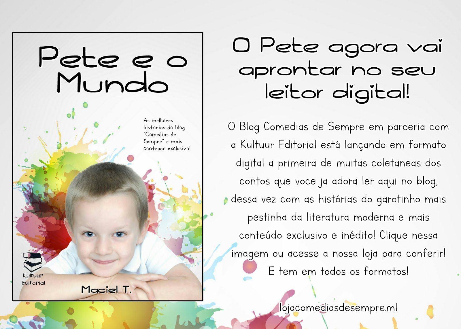 Estamos na Amazon!!!