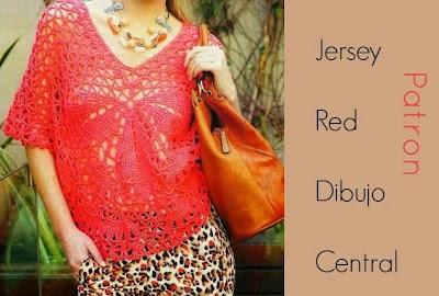 Jersey-Top Calado Patron e Instrucciones