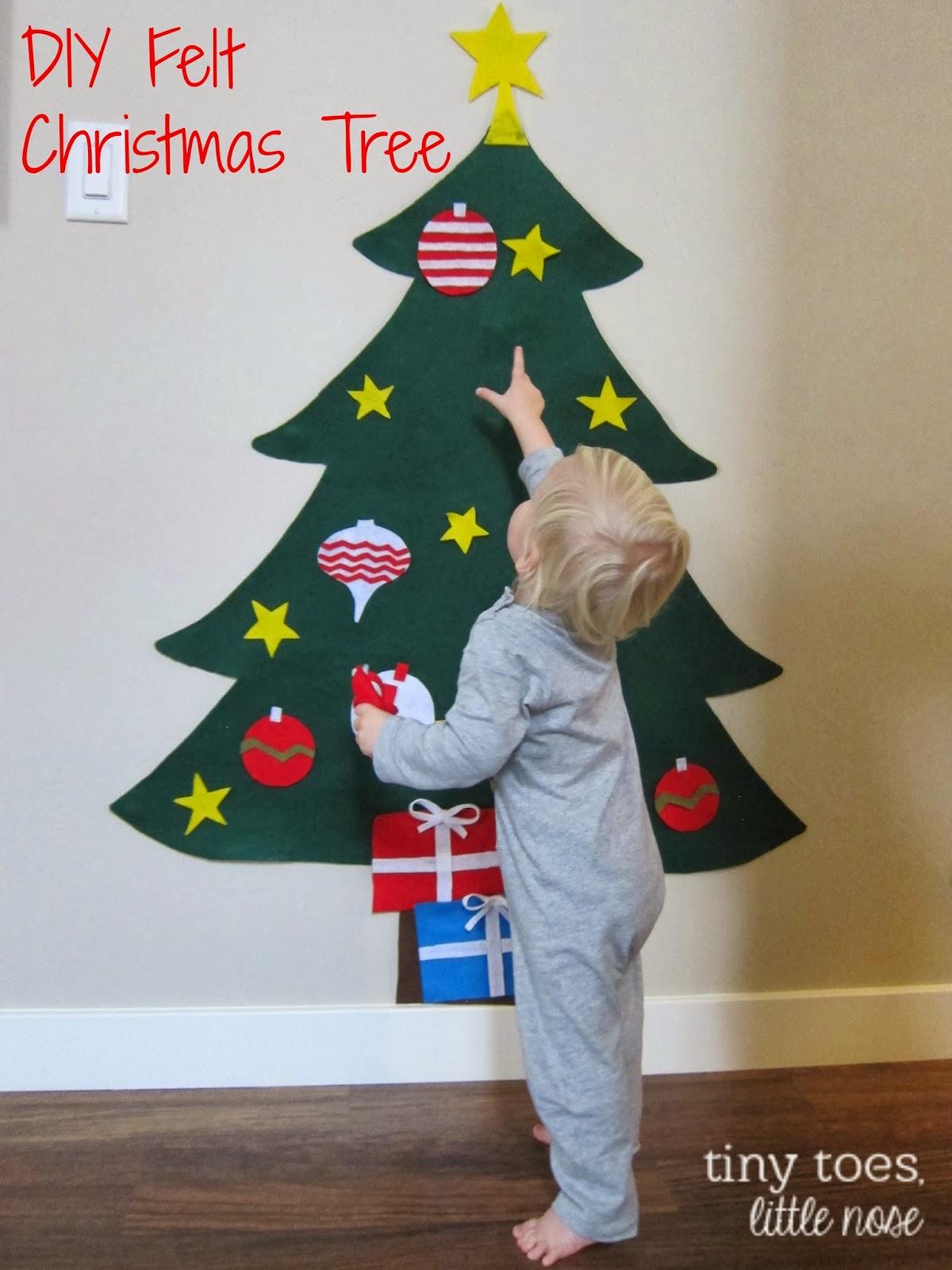 laurabird: DIY Felt Christmas Tree