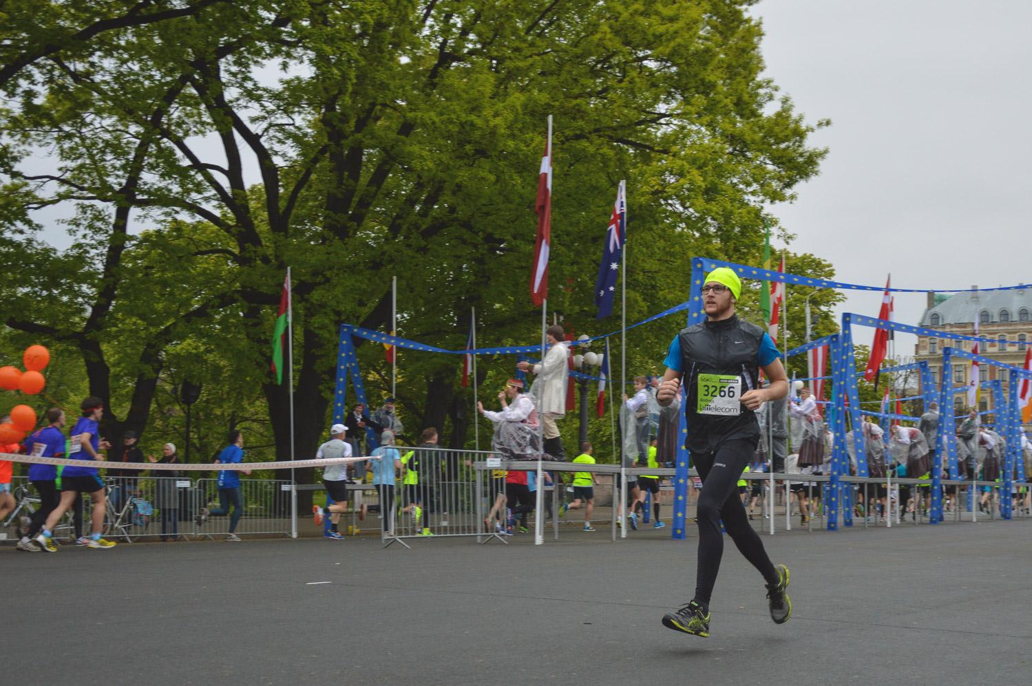 Running a half marathon in Riga