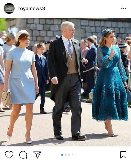 Princess Eugenie and Princess Beatrice Shoes at the Royal Wedding