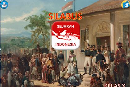 Silabus Mata Pelajaran Sejarah Indonesia Kelas X SMK Kurikulum 2013 Revisi 2017