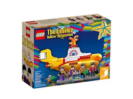 LEGO 21306 - Żółta łódź podwodna - The Beatles