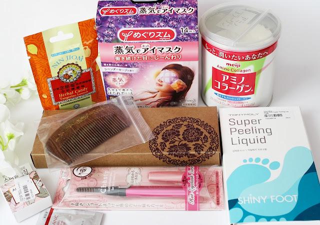Yesstyle, Yesstyle haul, Yesstyle Order, Yesstyle shopping, Meiji, Tony Moly, Kao, Hot Mask, Gua Sha,