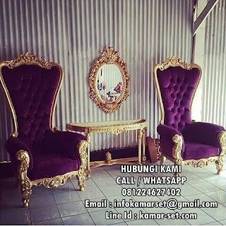 Set Kursi Princess Syahrini Mewah
