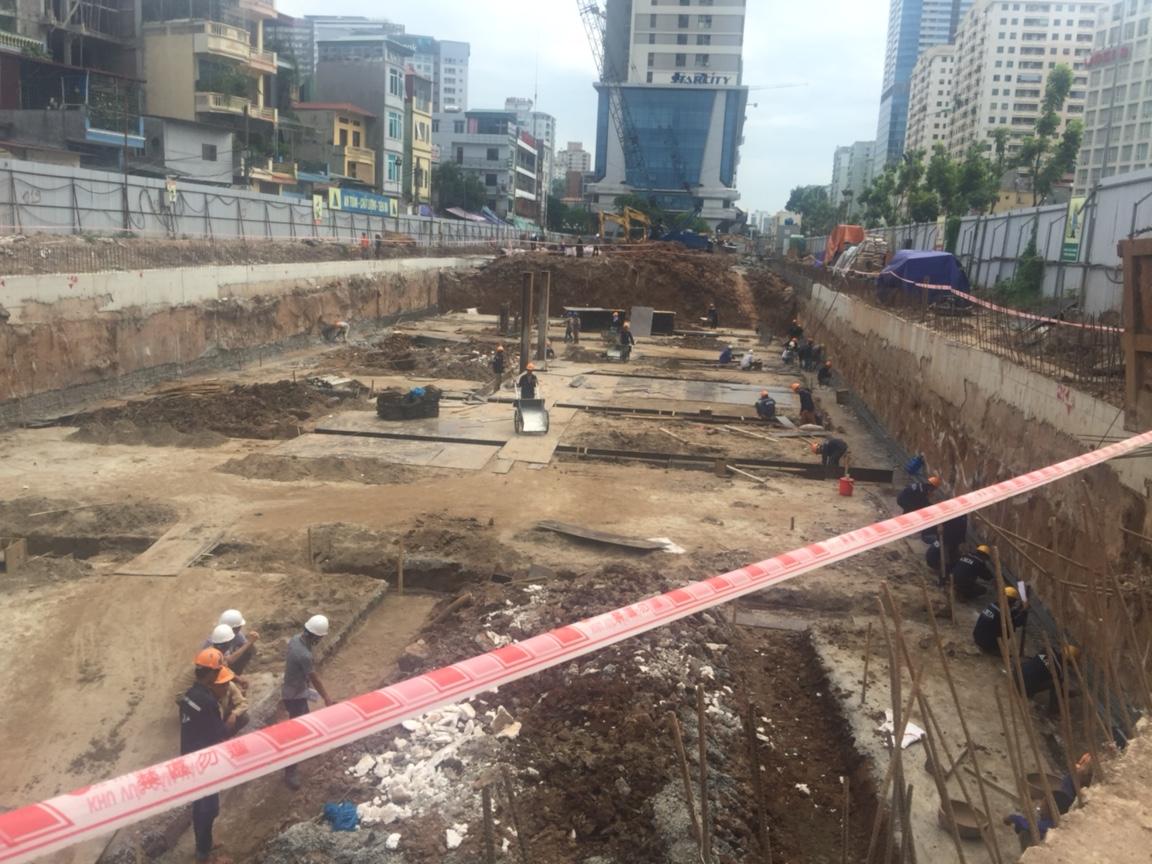 Tiến độ thi công dự án chung cư One 18 Long Biên