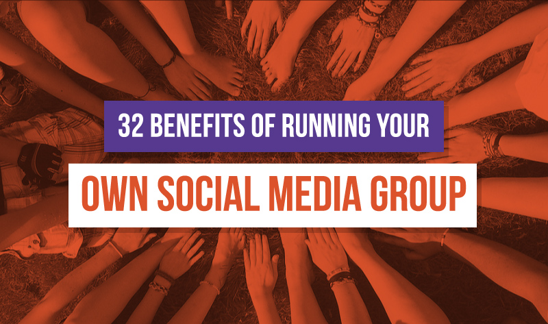 Social Media Groups for Business - #infographic