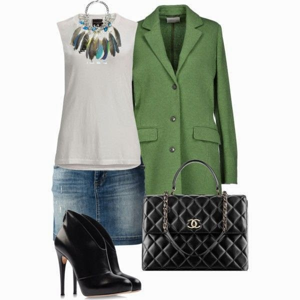 Outfit spring coat