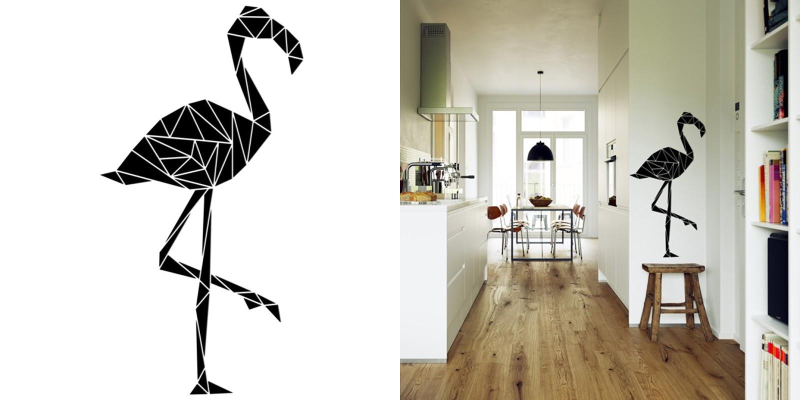 FlamingoweLove, czyli pomysł na wnętrze z ptasim akcentem