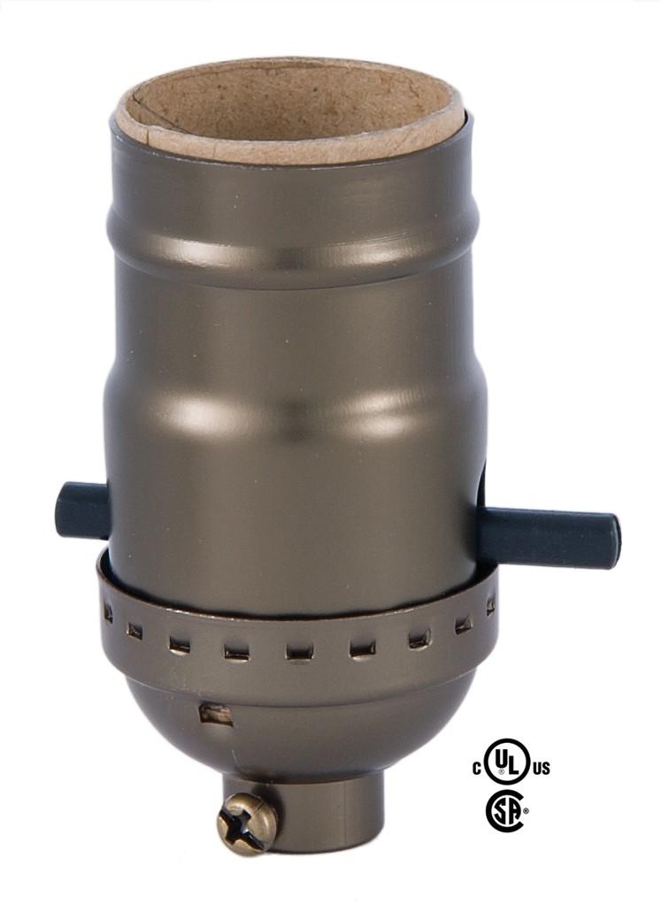 Lamp parts and repair lamp doctor porcelain table lamp socket repair base lamp socket with antique brass finish aloadofball Images