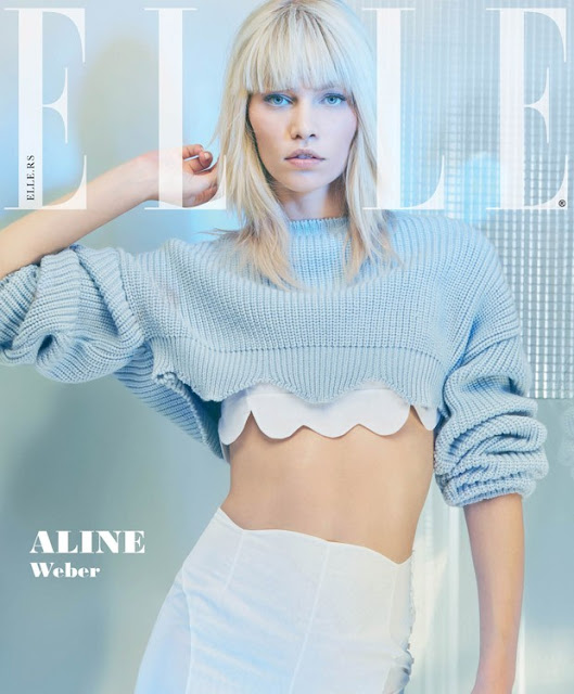 Fashion Model, @ Aline Weber - Elle Serbia July 2016