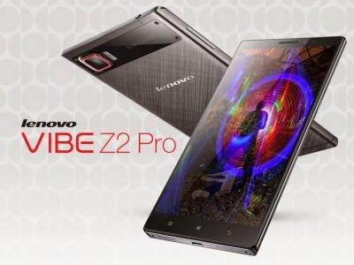 Lenovo Vibe Z2 Pro Resmi Diluncurkan