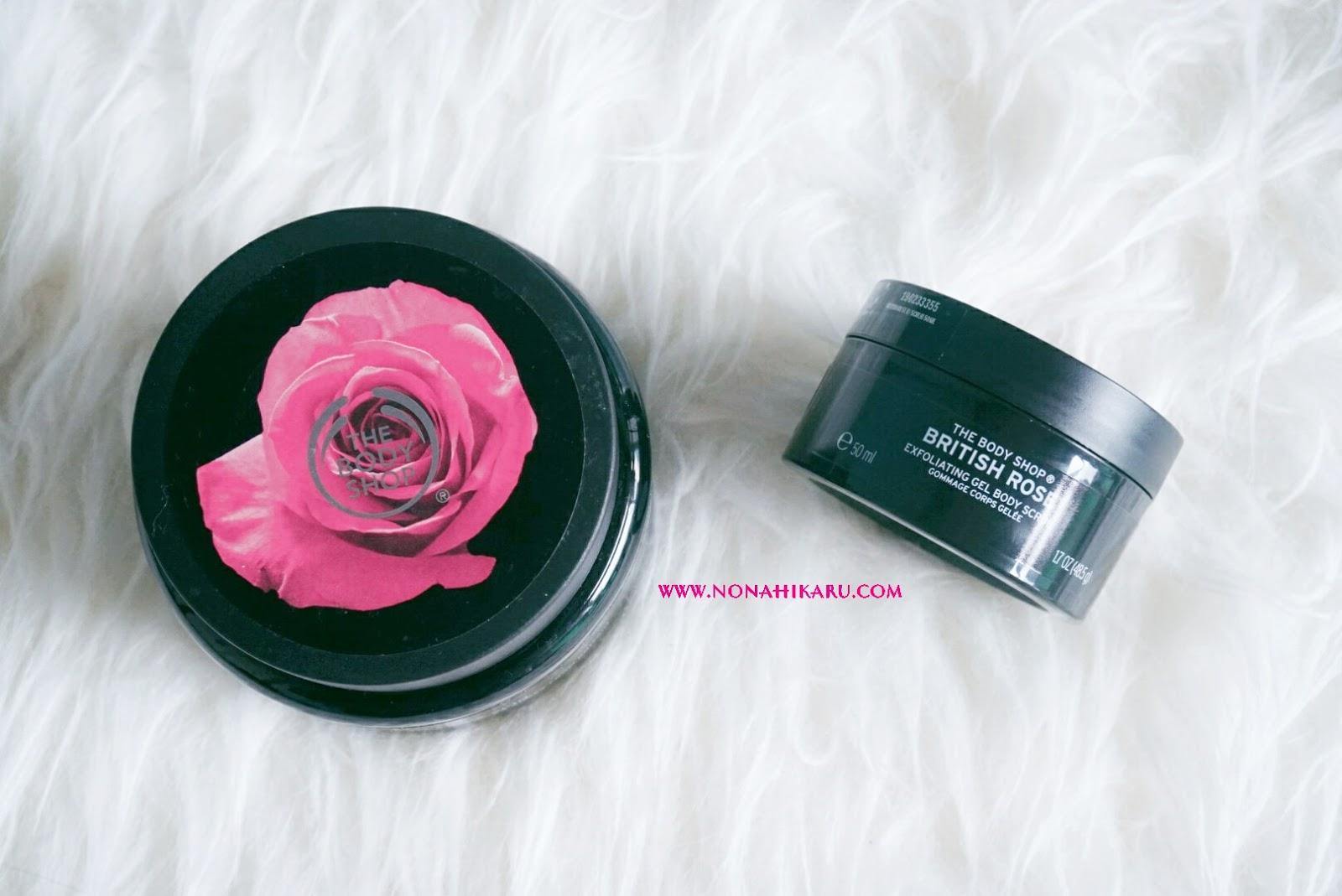 Review The Body Shop British Rose Beauty Travelling Paket Lotion Dan Shower Gel Produk Pertama Yang Akan Aku Bahas Adalah Exfoliating Scrub Kebetulan Punya Dua Ukuran 250 Ml 50