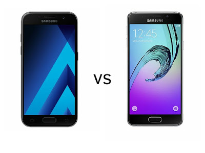 Samsung Galaxy A3 (2017) vs Samsung Galaxy A3 (2016)