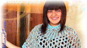 Capa Calada Tejida con Crochet o con las Manos / Super Fácil