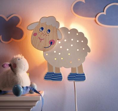 Muebles y decoraci n de interiores hermosas y decorativas l mparas para cuartos de ni os - Ideas para hacer lamparas ...